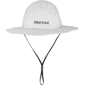 Marmot PreCip Eco Safarihoed, platinum